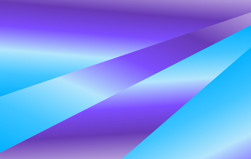 Abstract Blue and Purple Fluid Gradient Shapes Composition Futuristic Design Background