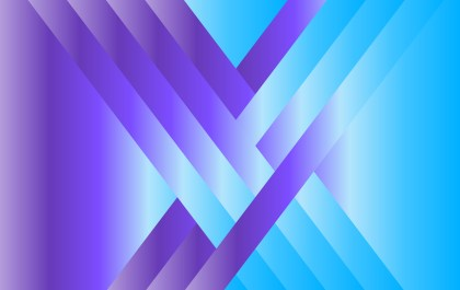 Abstract Blue and Purple Fluid Gradient Shapes Futuristic Design Background