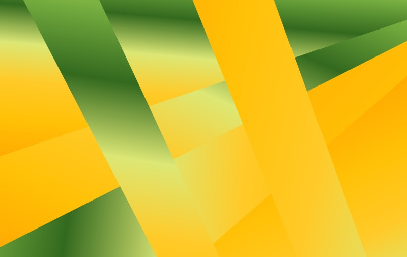 Abstract Orange and Green Liquid Color Geometric Background Graphic