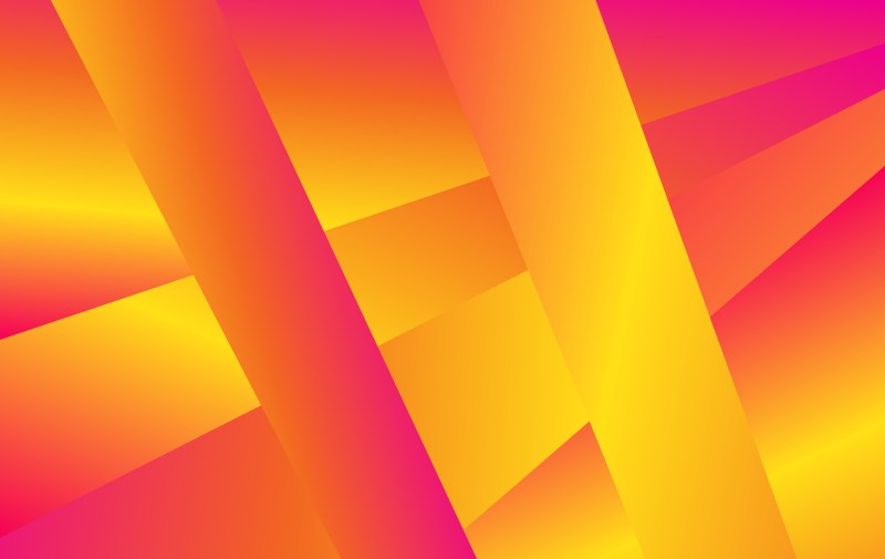 Abstract Pink and Orange Liquid Color Fluid Gradient Geometric Background