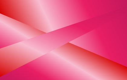 Abstract Pink and Red Fluid Color Gradient Shapes Composition Background