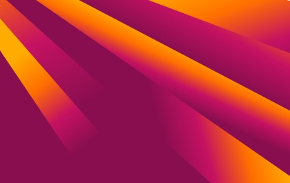 Abstract Purple and Orange Fluid Liquid Color Shapes Composition Background