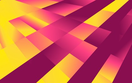 Abstract Purple and Yellow Liquid Color Geometric Background Graphic
