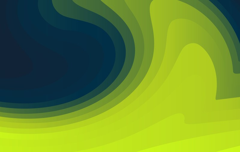 Abstract Black Blue and Green Fluid Color Shapes Composition Background