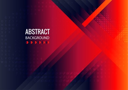 Abstract Black Red and Blue Liquid Color Fluid Gradient Geometric Background Illustration