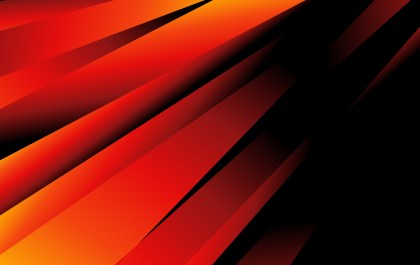 Abstract Black Red and Orange Liquid Color Geometric Background Graphic
