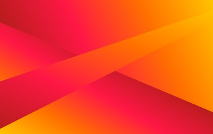 Abstract Orange Pink and Red Fluid Gradient Shapes Composition Futuristic Design Background