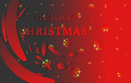 Abstract Red and Black Christmas Background