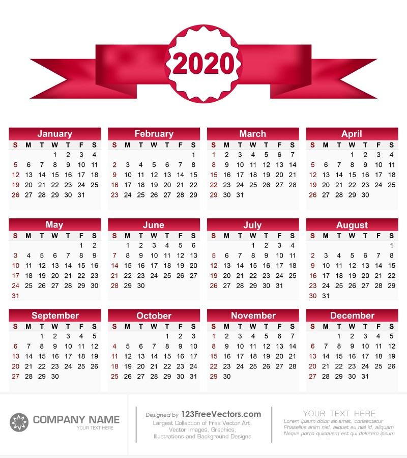 Calendar 2020 Pdf
