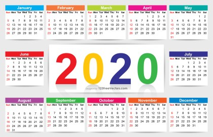 Download Calendar 2020