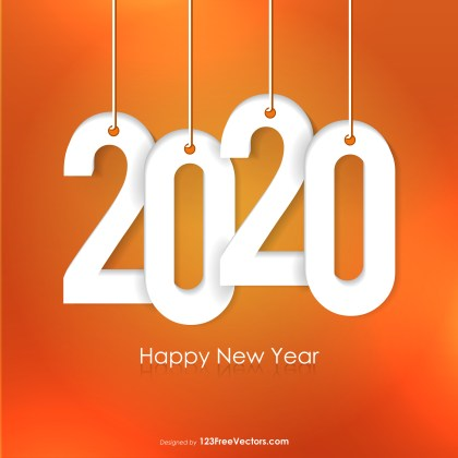 New Year Background 2020