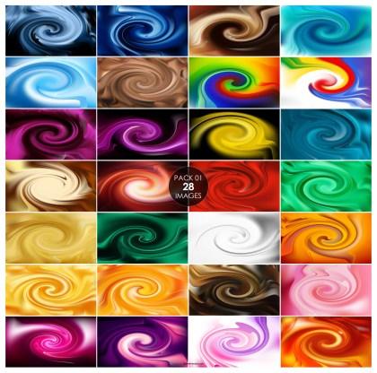 28 Spiral Background Pack 01