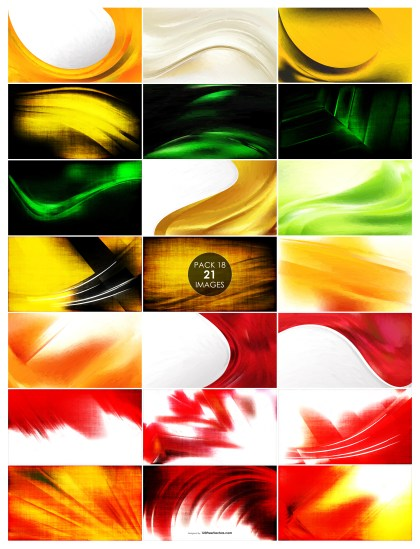 21 Red, Green and Orange Texture Background Pack 18
