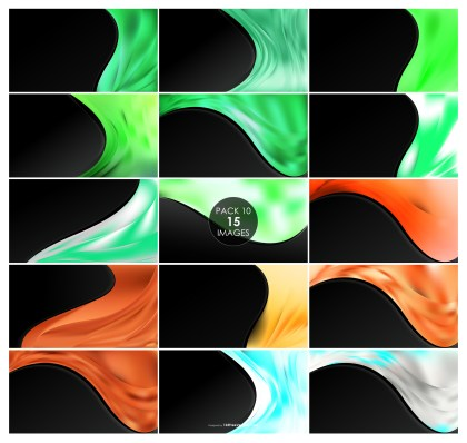 15 Wave Business Background Pack 10
