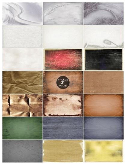 21 Vintage Paper Texture Pack 02