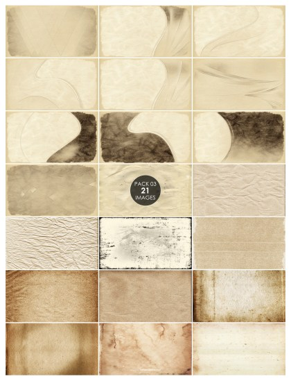 21 Vintage Paper Background Pack 03