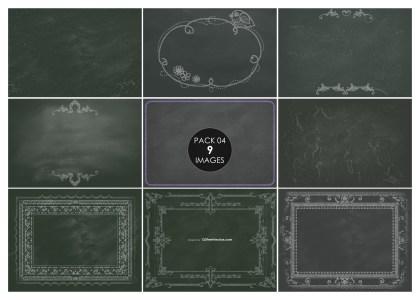 9 Blackboard Background Pack 04