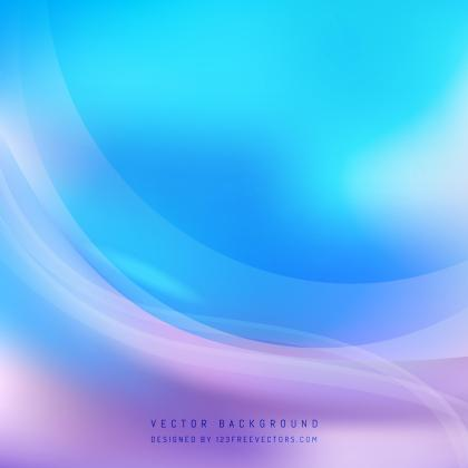 Blue Purple Wave Background