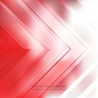 Abstract Light Red Arrow Background Template