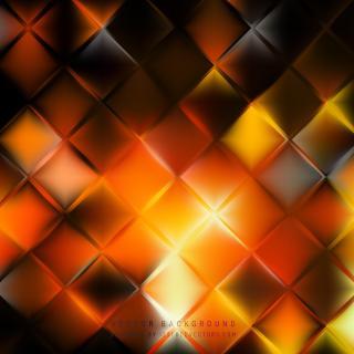 Black Orange Fire Square Background Pattern