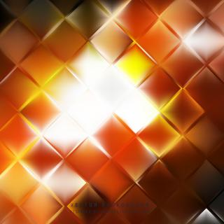 Yellow Orange Square Background Template