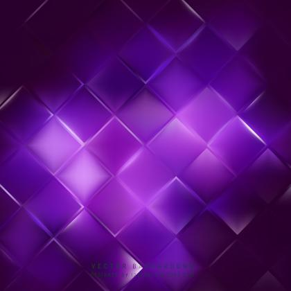Abstract Dark Purple Square Background Template