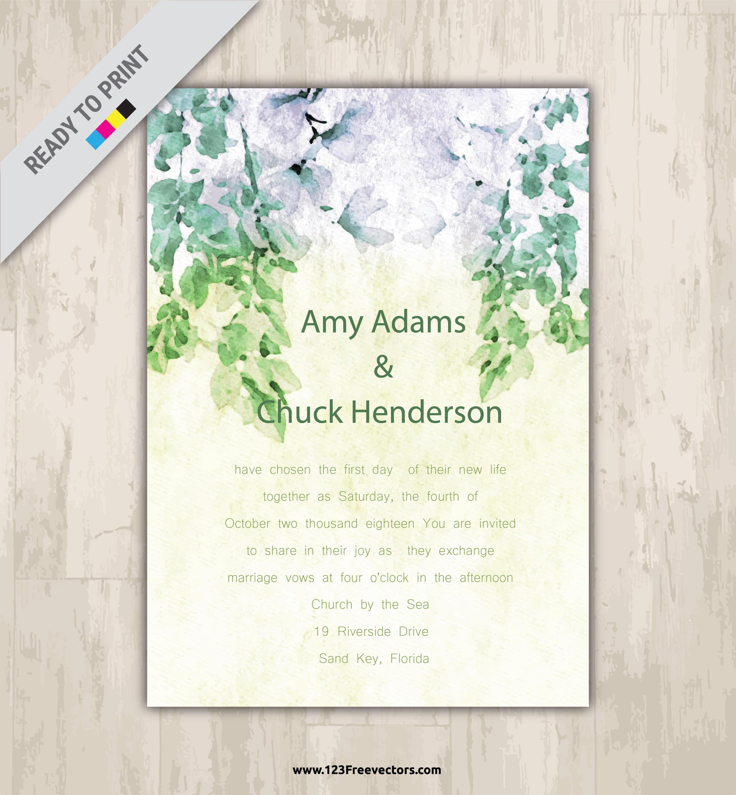 250 Wedding Invitation Templates Vectors Download Free Vector Art