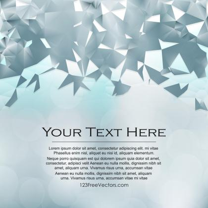 Abstract Light Color Triangle Polygonal Background