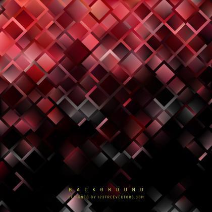 Red Black Square Background Template