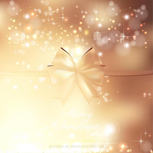 Christmas Graphics Background.Light Brown Christmas Bow Background Graphics