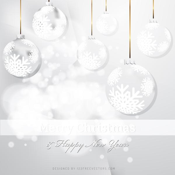 White Christmas Background.White Christmas Ornament Background
