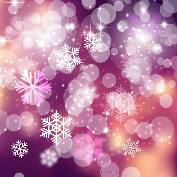 Pink Christmas Lights.Pink Bokeh Christmas Lights Background Design
