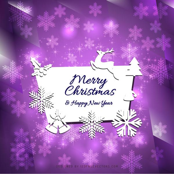 merry christmas and happy new year card background