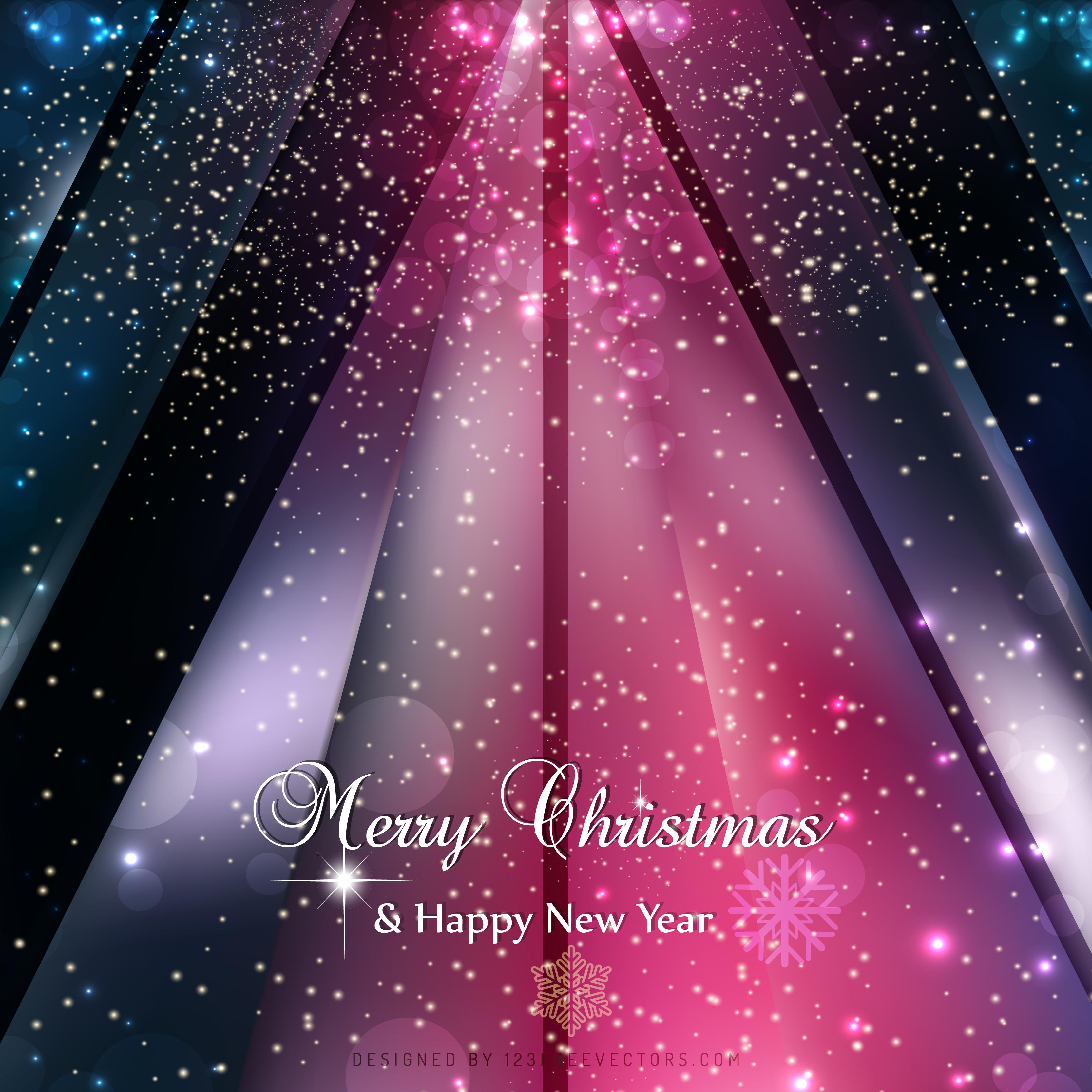Merry Christmas and Happy New Year Dark Color Background     Merry Christmas and Happy New Year Dark Color Background   123Freevectors