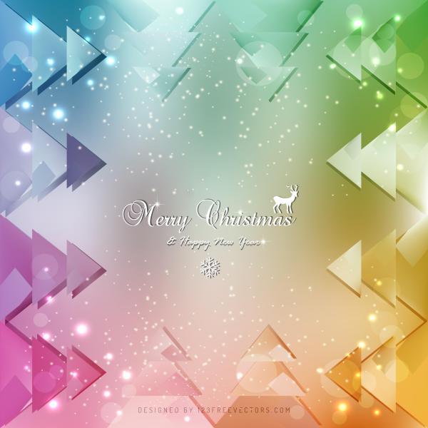 Colorful Christmas Background Design.Colorful Christmas Background Graphics
