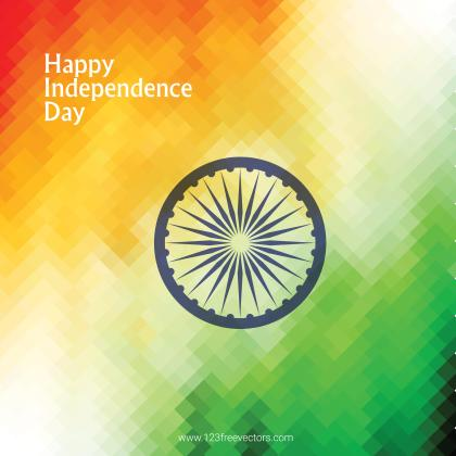 Indian Flag Background Image