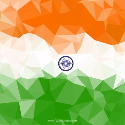 Indian Flag Theme Background for Indian Republic Day and Independence Day