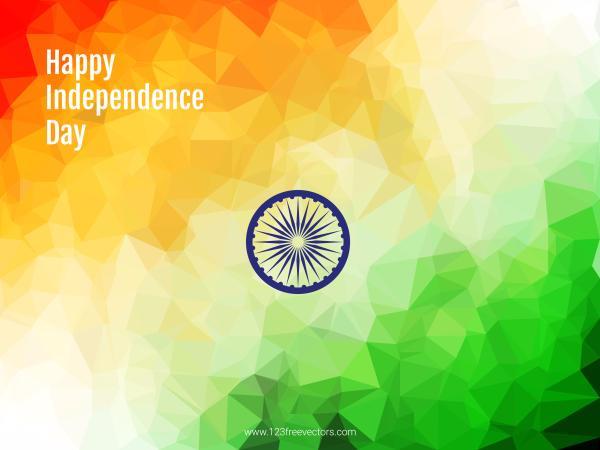 India Flag Theme: Indian Flag Theme Vector Background