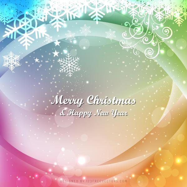 Colorful Christmas Background Design.Colorful Christmas Background Template