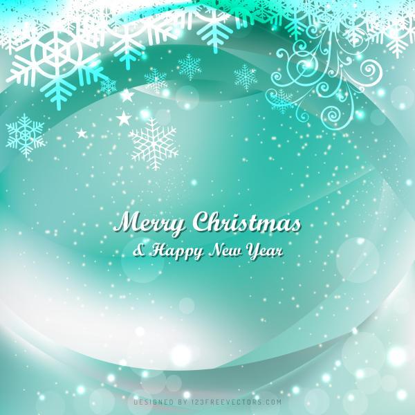 Elegant Christmas Background Images.Turquoise Elegant Christmas Background