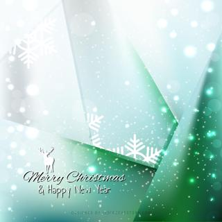 Blue Green Sparkles Christmas Background Graphics