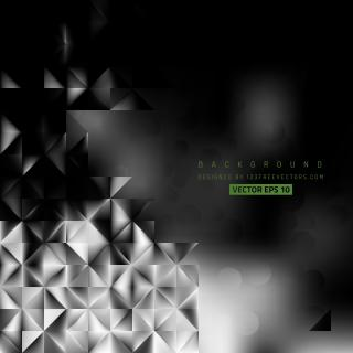 Abstract Black and Gray Background Template