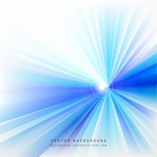 Blue White Rays Background Template