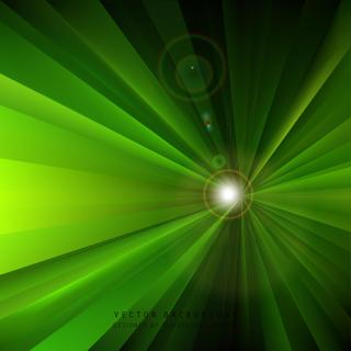 Abstract Black Green Light Rays Background Illustrator