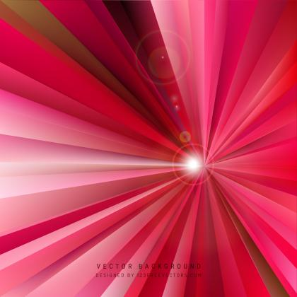 Abstract Pink Light Burst Background Graphics