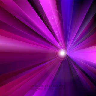Dark Purple Rays Background Design