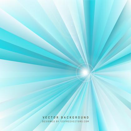 Light Turquoise Rays Background Template