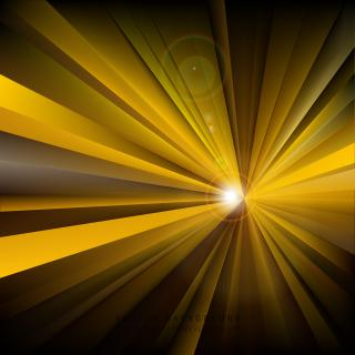 Black Yellow Light Rays Background Graphics