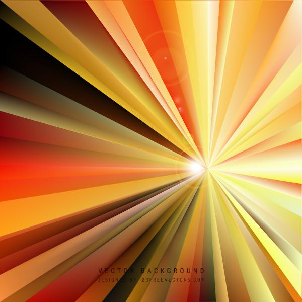 Abstract Light Rays Background Illustrator