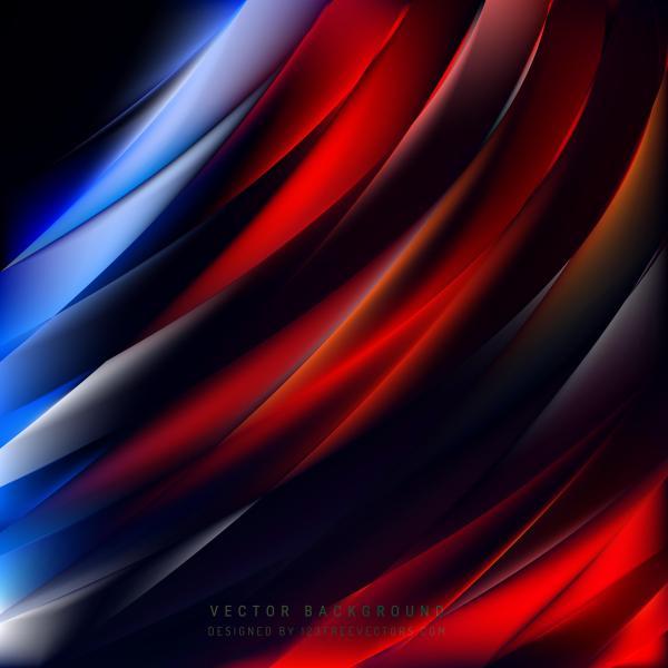 Blue Red Black Background Illustrator